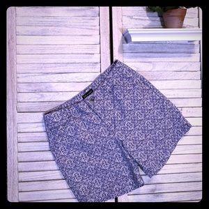 Lee Indigo Textile (Blue) Straight Fit Shorts